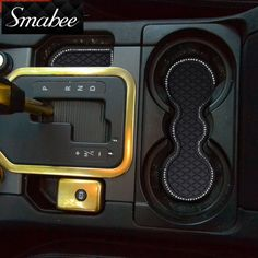 Door Groove Mat  For Land rover Discovery4 Gate slot mat pad rubber car-cup mat pad  Anti-slip mats Car stickers