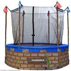 Hudora Spielverkleidung Set Ritterburg für Trampolin 305 cm | eBay