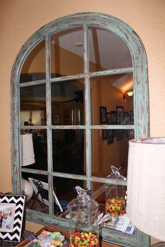 Window Wall Mirror window pane mirrors on wall | industrial window pane mirror with