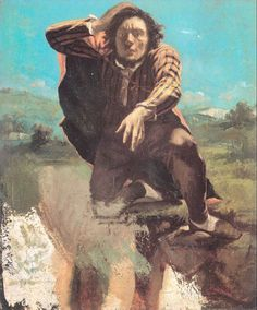 Courbet. The Man Made Mad by Fear. 1843.