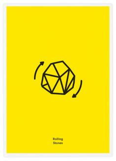 Rock Band Icons Illustrated with Literal Graphics by Tata&Friends