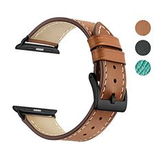 Apple Watch Band Leather Replacement Watch Strap with Stainless Metal Buckle Clasp iwatch series 1 2 3 Replacement strap #Apple #Watch #Band #Leather #Replacement #Strap #with #Stainless #Metal #Buckle #Clasp #iwatch #series #strap