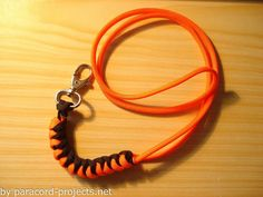 How to make a paracord lanyard.