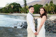 Stacie & Benjamin's Maui Wedding – Olowalu Plantation House Ann Waid Photography www.annwaidphotography.com