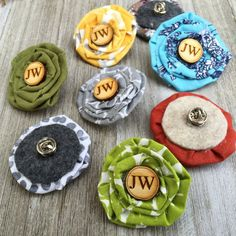 JW Sisters Flower Brooch Pin Pioneer/Baptism Gift 20 Colours