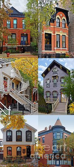Sale! New Fine Art Collage of 'Chicago historic Old Town Triangle' by Christine Till available at http://christine-till.artistwebsites.com/featured/1-chicago-historic-old-town-triangle-christine-till.html