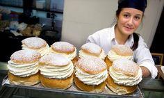 How to make traditional Swedish 'semlor' buns