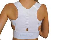 - 12 strategically placed magnets target the spine and lumbar region - Help you stand taller and straighter to make you look better and feel younger - Fits 90-110cm chest and waist (strap is adjustabl