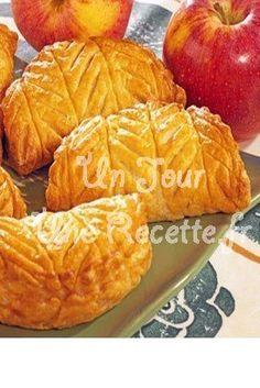 Photo de la recette Chaussons aux pommes express et faciles