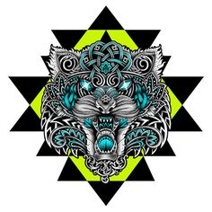 Cosmic Tigers by Pale Horse, via Behance