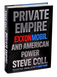 """Mr. Coll's vast narrative is bookended by accounts of man-made disasters. """"Private Empire"""" opens with the Exxon Valdez oil spill in Alaska in 1989 (the captain had been drinking), and closes with the BP Deepwater Horizon nightmare in the Gulf of Mexico in 2010. In between there is much for those who loathe Big Oil generally, and Exxon Mobil specifically, to feast upon."""