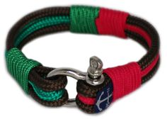 Sailors, surfer, traveler and especially YOU! Fix your style with Bran Marion Nautical Bracelets! This is an Atlantic breeze handsome, handmade bracelet that gives elegance for your wrist. It is made