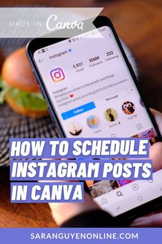 Tutorial on how to design and schedule instagram posts all in one place to help you streamline your workflow - Sara Nguyen #saranguyen #tips #tutorial #socialmediatips #marketing Social Media Marketing Business, Digital Marketing Strategy, Online Marketing, Social Media Management Tools, Social Media Tips, Instagram Life, Instagram Posts, Best Online Business Ideas, Instagram Schedule