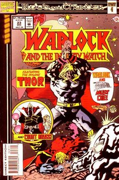 Warlock and the Infinity Watch # 23 by Tom Grindberg