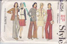 On Sale 1970s Style  Sewing Pattern No 4254  by jennylouvintage
