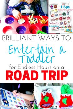 Epic list of ideas of car activities for toddlers for road trips. Road trip ideas for kids and toddl Road Trip With Kids, Family Road Trips, Travel With Kids, Road Trip Toddlers, Family Vacations, Road Trip Activities, Road Trip Games, Games For Toddlers, Toddler Activities