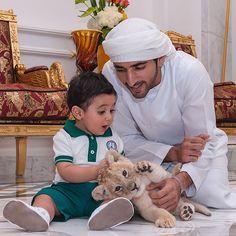 Baby Rashidwith - @ faz3- #webstagram