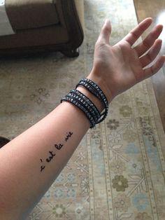 cest la vie tattoo - Buscar con Google