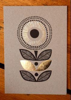 """""""Sunflower"""" card by Sanna Annukka"""