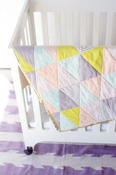 ONE HOUR triangle quilt!