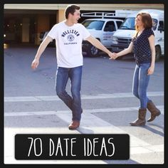 Tynica Elyse : 70 date ideas. I think when I get a boyfriend I'll be sure to try to do this whole list. This sounds like fun :) (a man who'll do this with me I could marry)