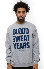 The Hundreds Clothing, Stressed Crewneck - Grey