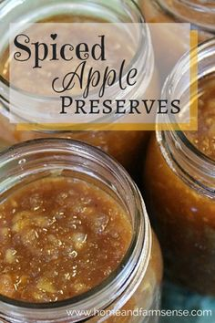 Spiced apple preserves are perfect on Thanksgiving rolls! Using Pomona's Pectin, you can make this recipe with far less sugar.