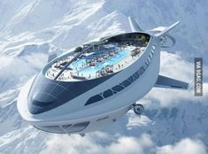 Futuristic Air Cruiseship. It looks amazing. / TechNews24h.com