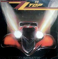 ZZ Top – Eliminator  Oitavo álbum de estúdio da banda ZZ Top, lançado em 1983. Este álbum está na lista dos 200 álbuns definitivos no Rock and Roll Hall of Fame. O carro deles é um Ford Coupé de 1933 que entrava em cena tornando assim, um ícone visual da banda. Um Hot Rod que ficou conhecido na capa do disco de mesmo nome e na capa do disco seguinte, Afterburner de 1985, que novamente é visto, porém, como nave espacial.