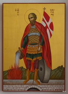 Byzantine Art, Religious Images, Sf, Ikon, Saints, Religion, Greek, Military, Painting