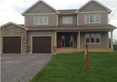 OPEN HOUSE Sunday 3 April 2-4pm Moncton New Brunswick. Gorgeous new construction off Evergreen features 3 + 1 bedrooms. Front entrance is spacious and opens to a grand staircase. The living room is so bright with a beautiful fireplace complete with stained mantel and surround tiles....