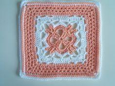 Cute crochet square