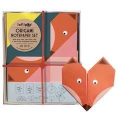 Оригами Notepaper Комплект: Фокс