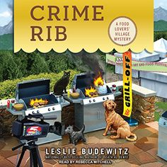 Crime Rib (Food Lovers' Village Mystery):   Gourmet food market owner Erin Murphy is determined to get Jewel Bay, Montana's, scrumptious local fare some national attention. But her scheme for culinary celebrity goes up in flames when the town's big break is interrupted by murder . . .    Food Preneurs, one of the hottest cooking shows on TV, has decided to feature Jewel Bay in an upcoming episode, and everyone in town is preparing for their close-ups, including the crew at the Glacier ...