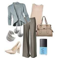 """""""Summer for the Office"""" by august29 on Polyvore"""
