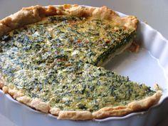 Spinach Quiche #Recipe