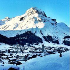 Kaiser Wetter in Lech am Arlberg
