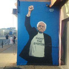 #BernTheSystem #Bernie2016