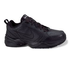 Nike Air Monarch IV Men's Cross-Training Shoes, Size: 13 Xw, Black