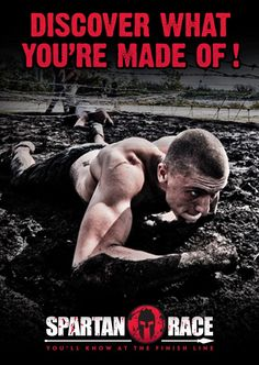 train for spartan race!   Start with a 2-4 mile run. Let the first mile be your warm up, then gradually ramp up your intensity till you are finishing at race pace.   Recover for 3-5 minutes before breaking into the following strength routine:  50-200 body weight squats  20-100 push-ups  4 minute plank  50-200 lunges  10-50 burpees  50-100 crunches    You can break each strength exercise into three sets, or do the series of strength exercises three times. Try to limit recovery time.  Cool…