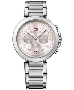 Tommy Hilfiger Women's Stainless Steel Bracelet Watch 40mm 1781451 - Watches - Jewelry & Watches - Macy's