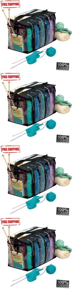 Totes and Cases 83927: 6 Skein Crocheting Organizer Holder Storage Knitting Yarn Craft Tote Bag Case -> BUY IT NOW ONLY: $34.74 on eBay!