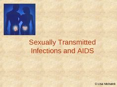 This PowerPoint presentation has 20 slides on the following topics: Sexually Transmitted Infections and AIDS, Sexually Transmitted Diseases (STD), Chlamydia, Pelvic Inflammatory Disease (PID), Gonorrhea (the clap), Syphilis, Pubic Lice (crabs), Genital Warts, Candidiasis (yeast infection), Trichomoniasis (trich), Herpes, HIV / AIDS, Transmitting HIV, HIV Symptoms, HIV Testing, AIDS Treatments, Preventing STDs. $3.75