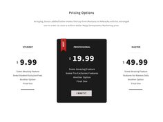 Dribbble - Yet Another Pricing Table by Hasin Hayder