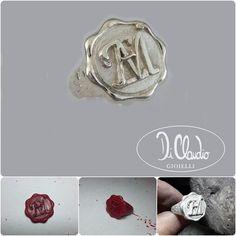anello in argento realizzato dal maestro orafo