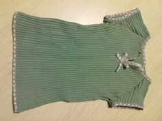 """Da un maglione rovinato a un vestitino """"lanoso"""""""