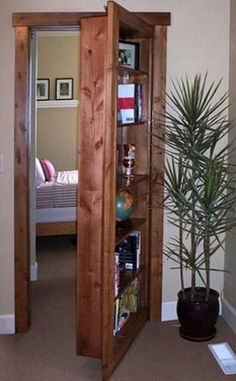 The hidden bedroom design