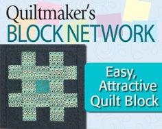 Tic Tac Toe block - Easy, Attractive Quilt Block - Quiltmaker's Block Network