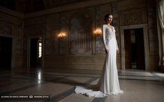 berta bridal 2014 sexy front wedding dress
