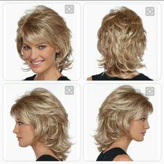 Cortes de cabello Medium Length Hair With Layers, Medium Hair Cuts, Short Hair Cuts, Medium Hair Styles, Curly Hair Styles, Medium Shag Hairstyles, Messy Bob Hairstyles, Haircuts, Modern Shag Haircut